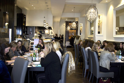 baby shower event at fiamma
